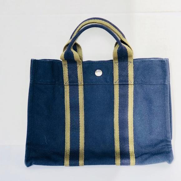 fadd70bc970 Hermes Bags   Herms Paris Canvas Bag   Poshmark